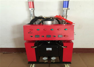 China Mobile Polyurethane Foam Spray Machine 380V / 220V For Building Exterior Wall supplier
