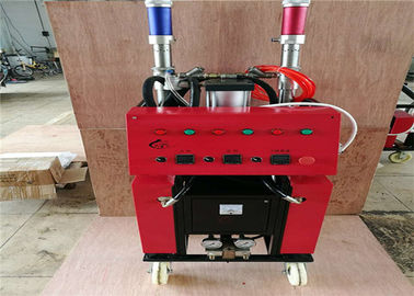 Fireproofing Polyurethane Filling Machine Safe Operation With Compact Design